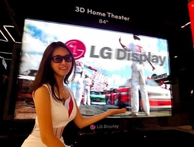 LG Display 84 pulgadas