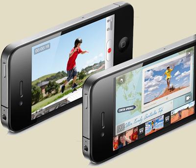 iPhone 4G con A4