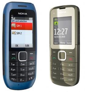 Nokia C1 y Nokia C2