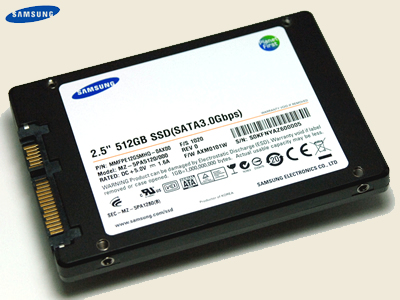Samsung SSD 512 GB