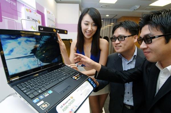 notebook LG 3D